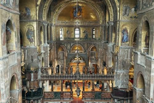 St. Mark's Basilica (Basilica di San Marco), Venice, Italy
