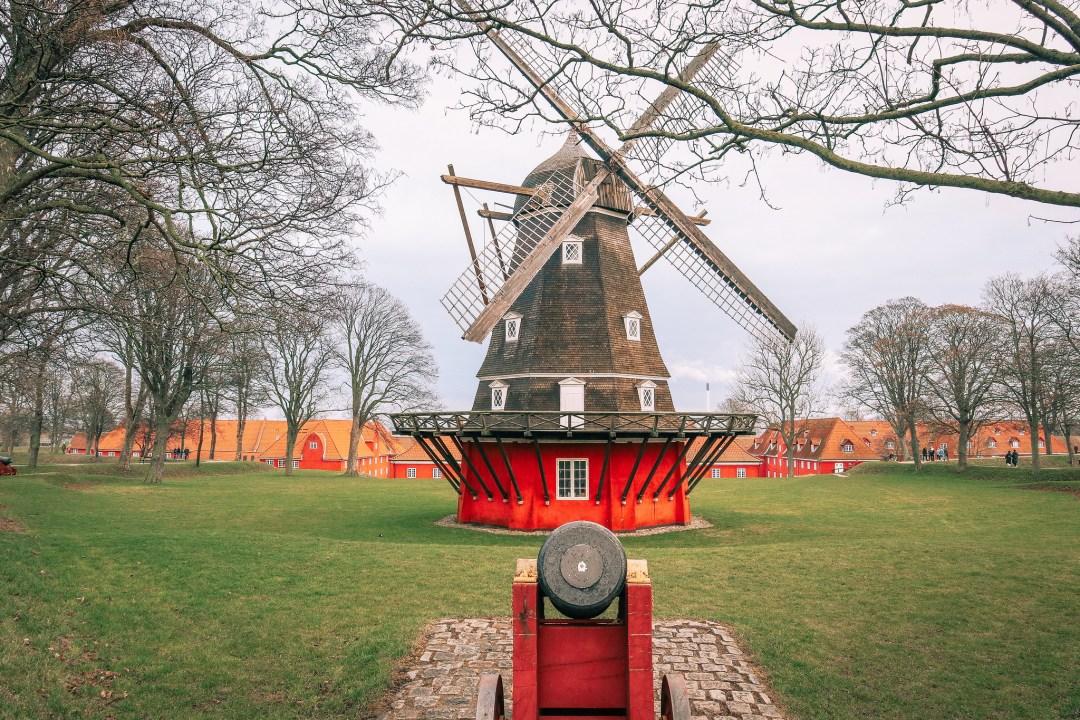 Kastellet, mulino a vento, Copenaghen