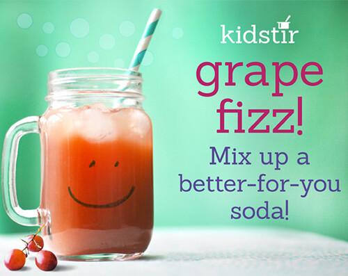 Kidstir Grape Fizz