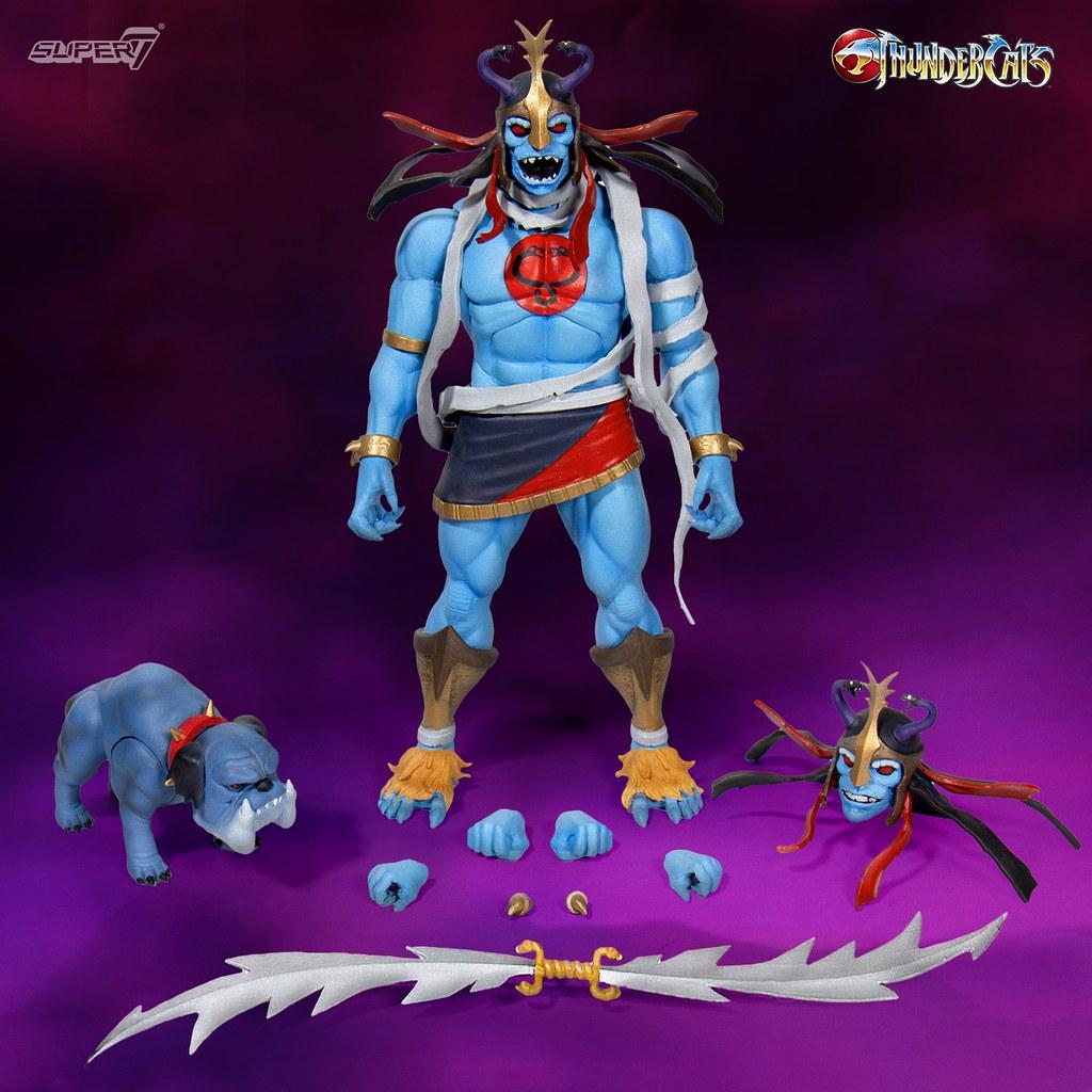 兇暴的木乃伊,帥氣的虎貓參戰~ Super7 ×《霹靂貓》可動人偶第二波四款角色公開! Thundercats Ultimate Figure Wave ...