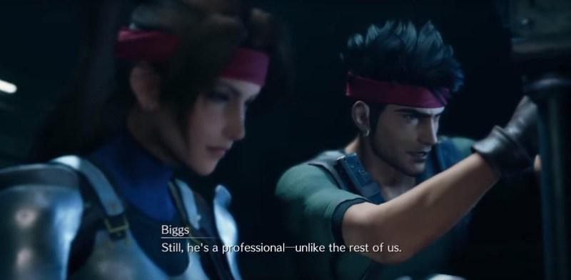 Remake de Final Fantasy VII - Biggs