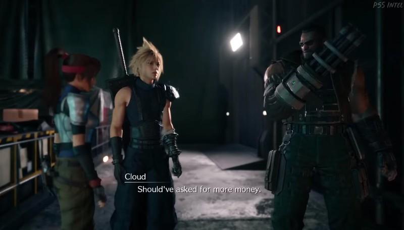Remake de Final Fantasy VII - Barrett
