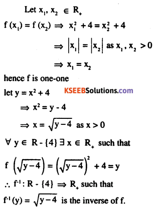 2nd PUC Maths Question Bank Chapter 1 Relations and