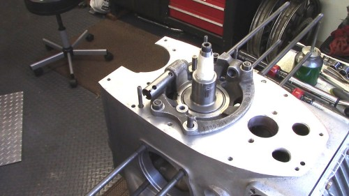 Engine Block Orientation To Install Camshaft