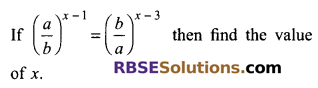 RBSE Solutions for Class 9 Maths Chapter 2 Number System Additional Questions 44