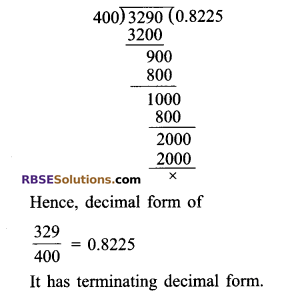 RBSE Solutions for Class 9 Maths Chapter 2 Number System Ex 2.1 7