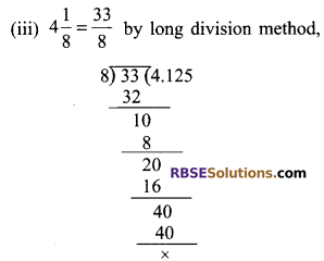 RBSE Solutions for Class 9 Maths Chapter 2 Number System Ex 2.1 4