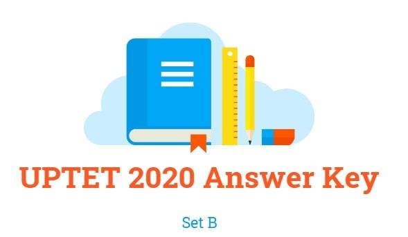 UPTET Answer Key 2020 Set B
