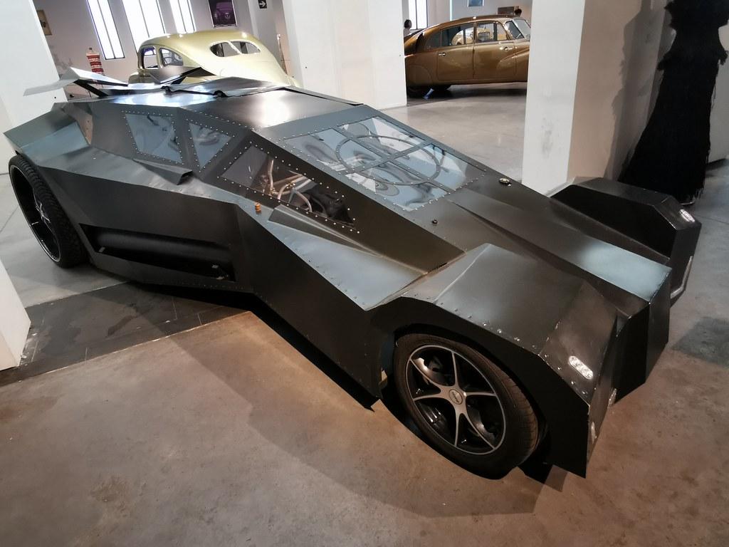 Museo Automovilístico y de la Moda Málaga coche del año 2011 Aire comprimido prototipo La Guerra delas Galaxias