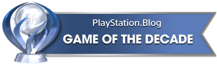 PS Blog Game of the Decade - Platinum