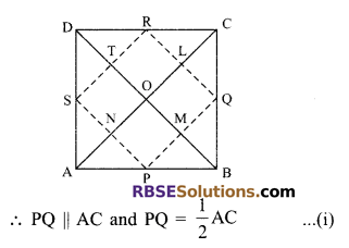 RBSE Solutions for Class 9 Maths Chapter 9 Quadrilaterals Ex 9.2 13