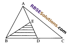 RBSE Solutions for Class 9 Maths Chapter 10 Area of Triangles and Quadrilaterals Ex 10.3 4