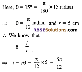 RBSE Solutions for Class 9 Maths Chapter 13 Angles and their Measurement Additional Questions 6