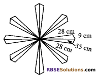 RBSE Solutions for Class 9 Maths Chapter 11 Area of Plane Figures Additional Questions 17