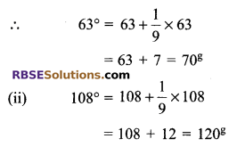 RBSE Solutions for Class 9 Maths Chapter 13 Angles and their Measurement Additional Questions 7