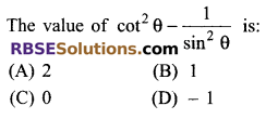 RBSE Solutions for Class 9 Maths Chapter 14 Trigonometric Ratios of Acute Angles Miscellaneous Exercise 6