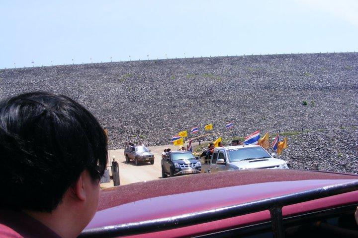 รถกระบะขึ้นเขาคิชฌกูฏ จังหวัดจันทบุรี