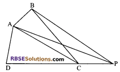 RBSE Solutions for Class 9 Maths Chapter 10 Area of Triangles and Quadrilaterals Additional Questions 17