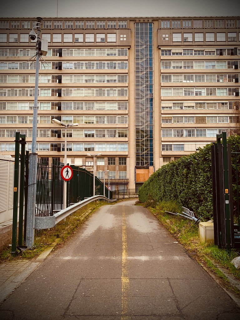 Rotterdam Daily Photo: A hospital from behind the Iron Curtain