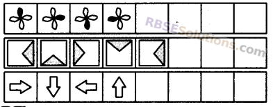 RBSE Solutions for Class 5 Maths Chapter 8 पैटर्न Additional Questions 13