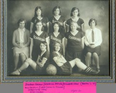 Scarborough High School - Girls Basketball - 1929-30