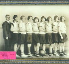 Scarborough High School - Girls Basketball - 1928-29