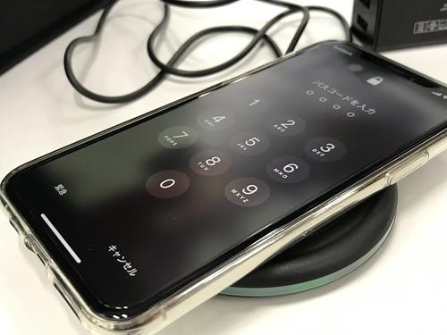 iPhone のワイヤレス充電はワイヤレスなので便利