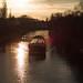 Berlin Teltowkanal 13.1.2020 Sonnenuntergang