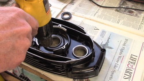 Heating Inner Timing Cover Around Front Main Seal Hole