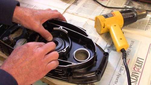 Press Front Main Seal Into Inner Timing Cover By Hand