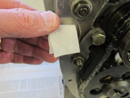 Clean Alcohol Wipe Means No Oil On Gasket Sealing Surface