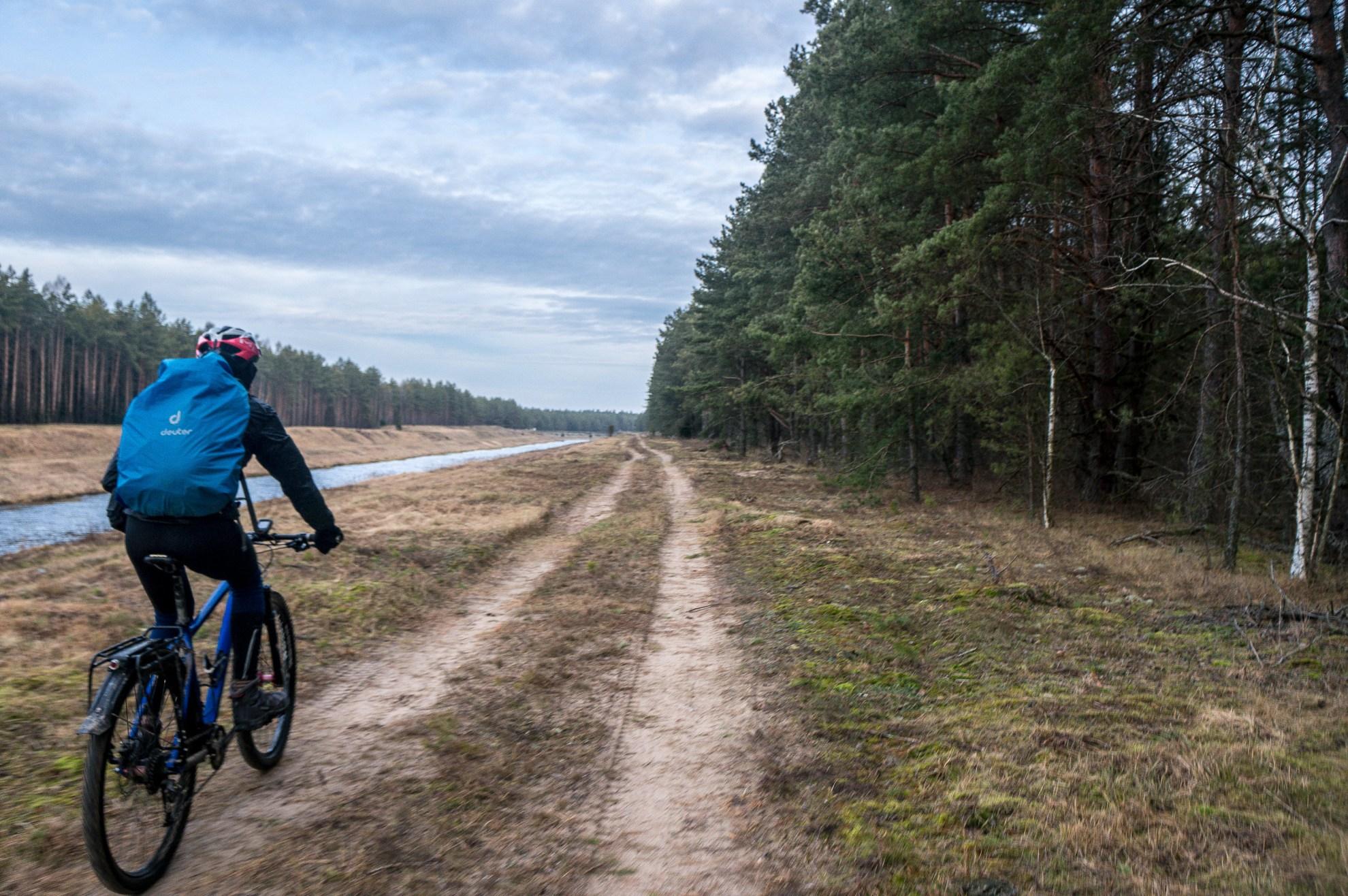 Дорога вдоль Вилейско - Минского канала