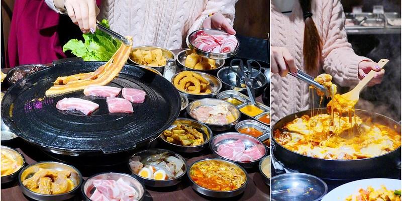豬對有韓式烤肉吃到飽_逢甲夜市:高CP值吃到飽每人299元 11種肉/飲料冰淇淋/現炒/小菜/小火鍋/滷牛腩飯無限吃
