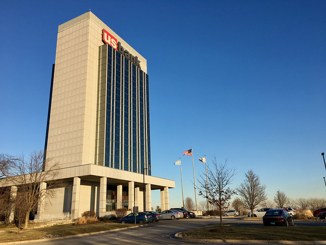 Us Bank tower in Pullman