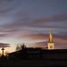 Le jour se lève sur Saint- Pierre -le- Chastel.