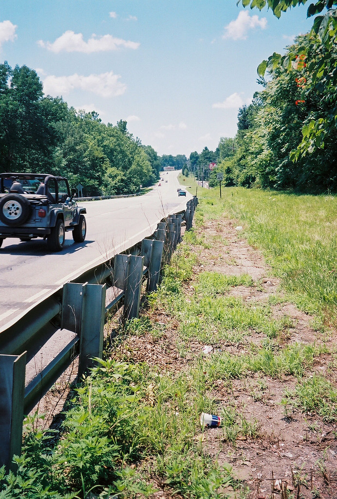 Former alignment/Interurban bridge abutment