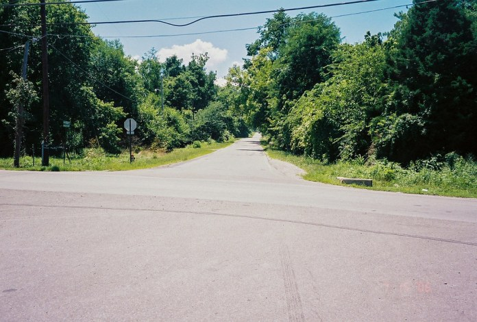 Old US 40 through Toad Hop