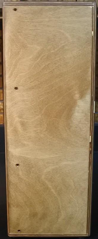 Doepfer case side stained