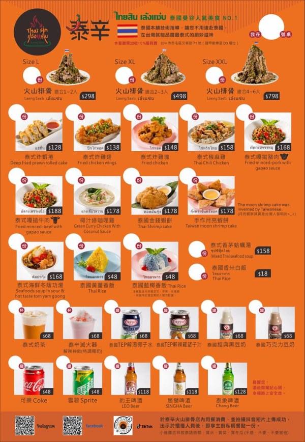 49413458182 46821a15bd b - 熱血採訪|泰辛火山排骨,台中也能吃到曼谷夜市爆紅美食,巨無霸浮誇排骨山,大口吃肉超過癮