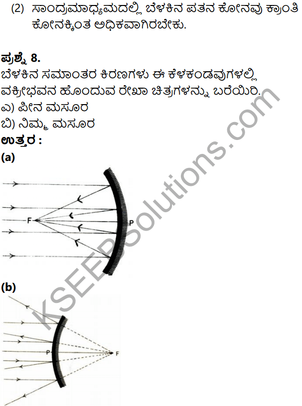 KSEEB Solutions for Class 8 Science Chapter 17 Namma Varnamaya Jagattu in Kannada 7