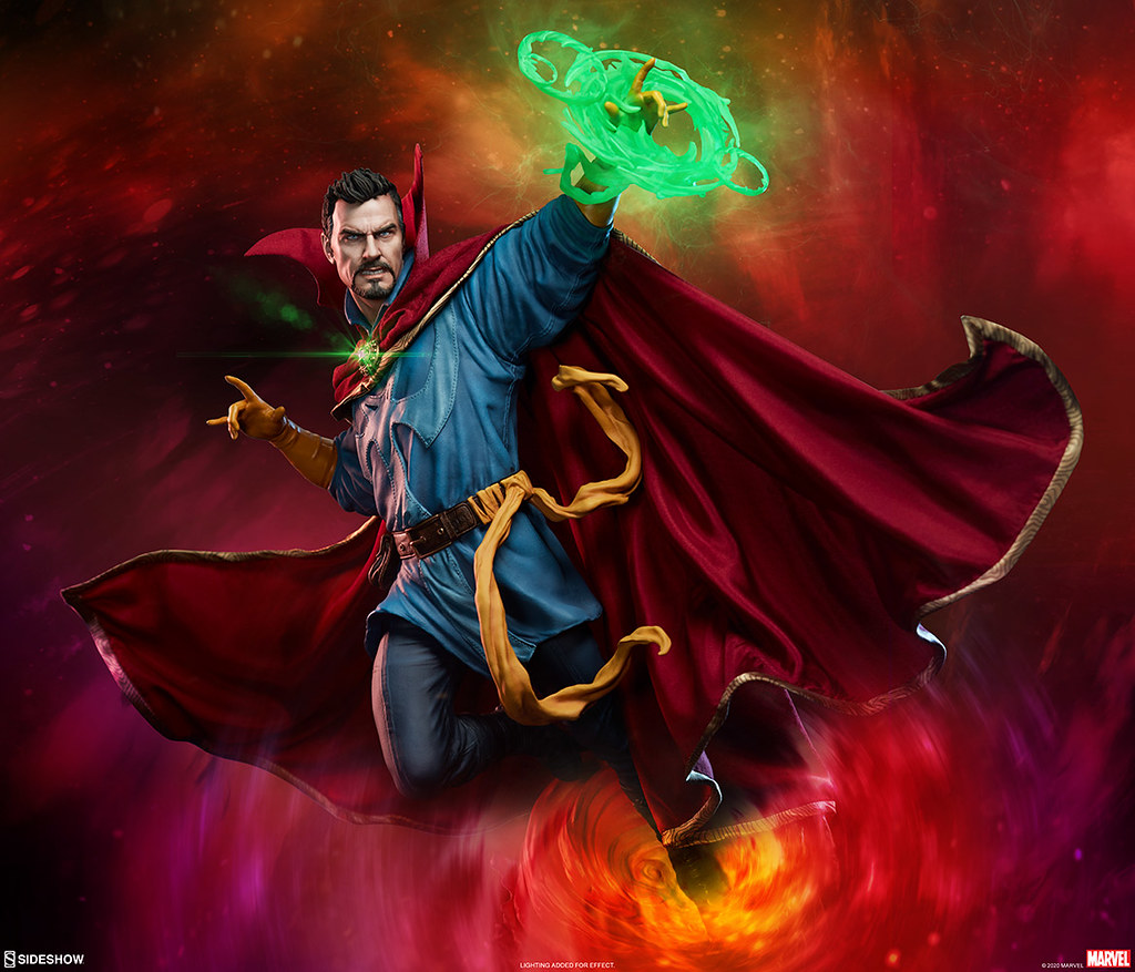 因為他很奇異~Sideshow Collectibles《奇異博士》奇異博士 1/4 比例全身雕像作品(Doctor Strange Maquette) | 玩具人Toy ...