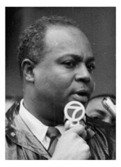 CORE leader James Farmer: 1963 ca.
