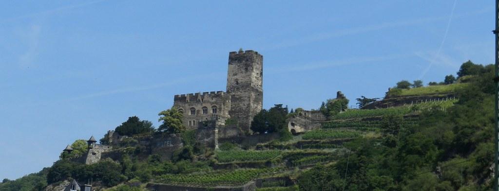 Castillo Gutenfels Burg Kaub Valle del Rin Alemania 02