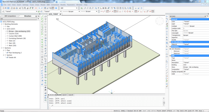 Working with BricsCAD Platinum 20.1.08.1 full license