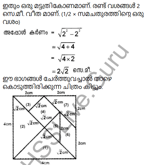 Kerala Syllabus 9th Standard Maths Solutions Chapter 4 New