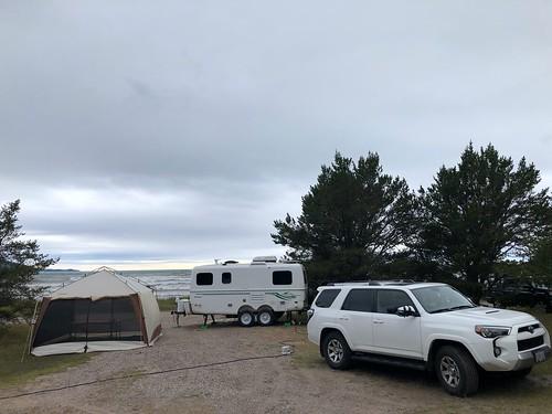 Neys - the campsite