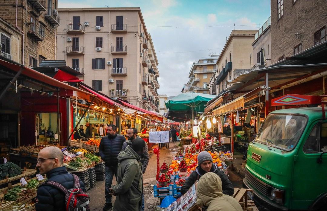 Mercato di Ballarò, Palermo