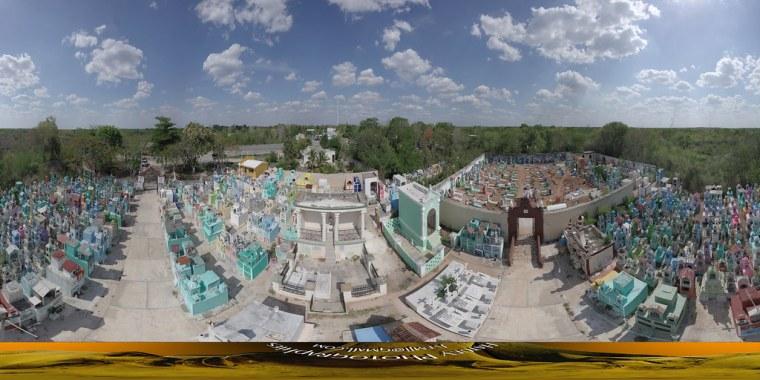360° Cimetière d'Hoctun, Yucatan 201908