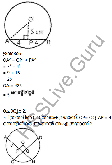 Kerala Syllabus 9th Standard Maths Solutions Chapter 5