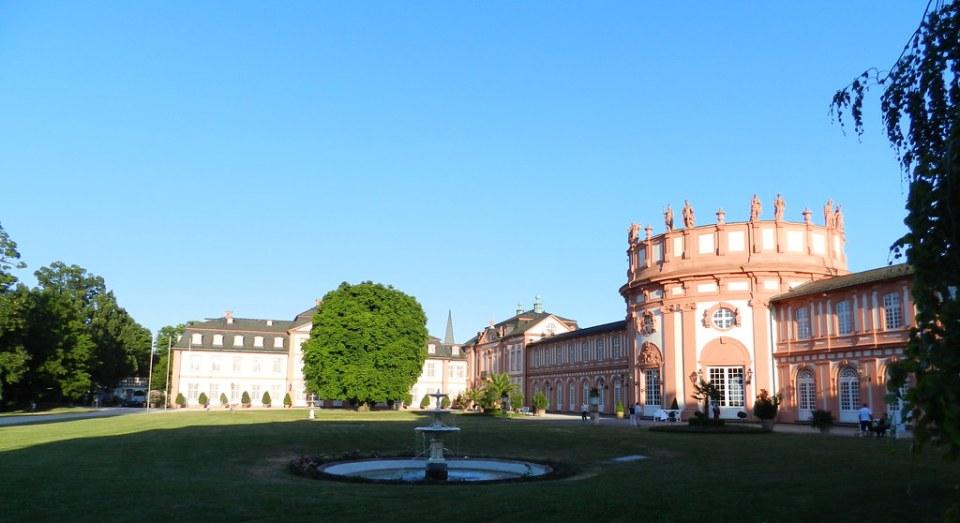exterior Castillo Palacio de Biebrich Wiesbaden Alemania 09